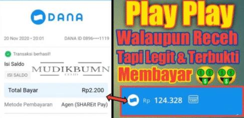 PlayPlay game penghasil saldo uang