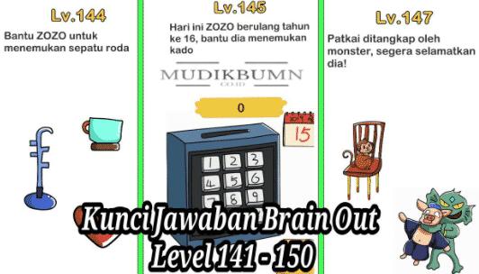 Kunci Jawaban Brain Out Level 1 223 Terlengkap 2021