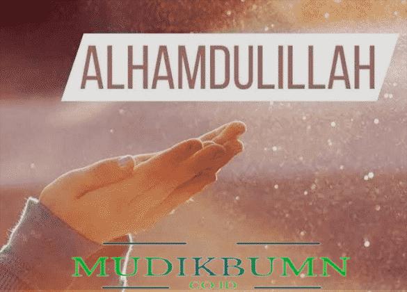 contoh tulisan arab hamdalah