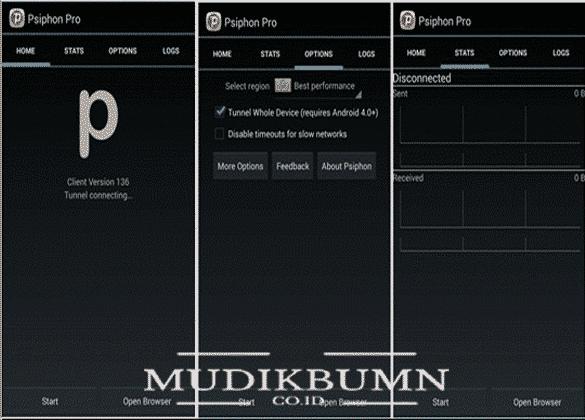 cara mengaktifkan vpn psiphon versi pro mod
