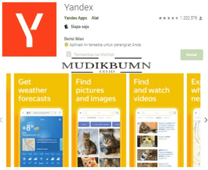 download yandex search video